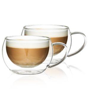 Termo sklenice na cappuccino Hot&Cool 280 ml