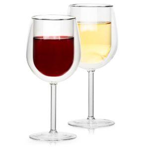Termo sklenice na víno Hot&Cool