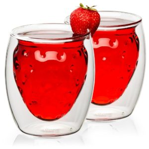 Termo sklenice Strawberry Hot&Cool