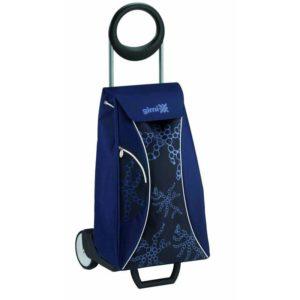 Gimi Nákupní taška na kolečkách Market modrá