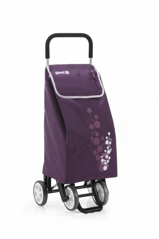 Gimi Nákupní taška na kolečkách Twin fialová