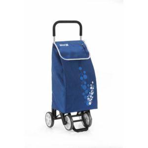 Gimi Nákupní taška na kolečkách Twin modrá